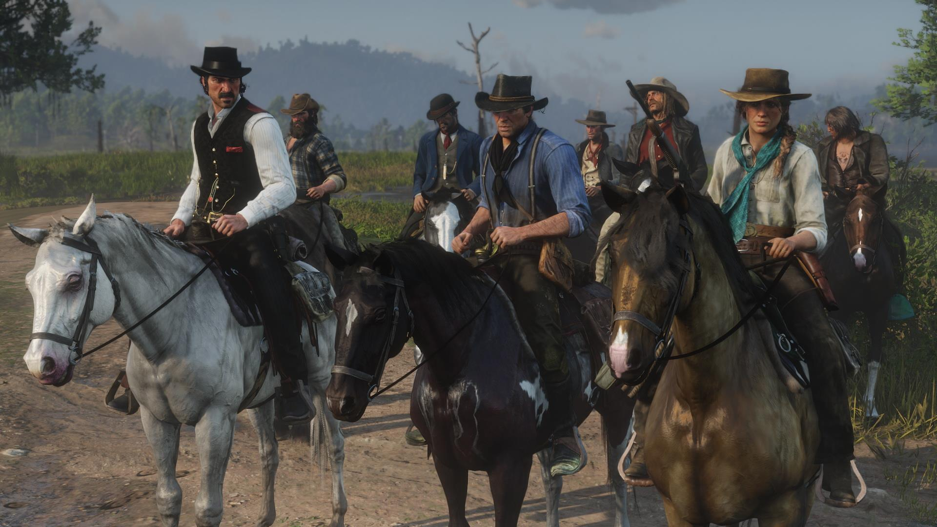 Neue Screenshots zu Red Dead Redemption 2 zeigen Tierwelt, Open World und Charaktere. Bild 7 - Quelle: Rockstar Games