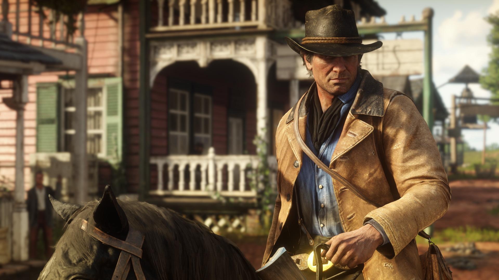 Gesattelt und gestriegelt: Neue Screenshots zu Red Dead Redemption 2. Bilderquelle: Rockstar Games