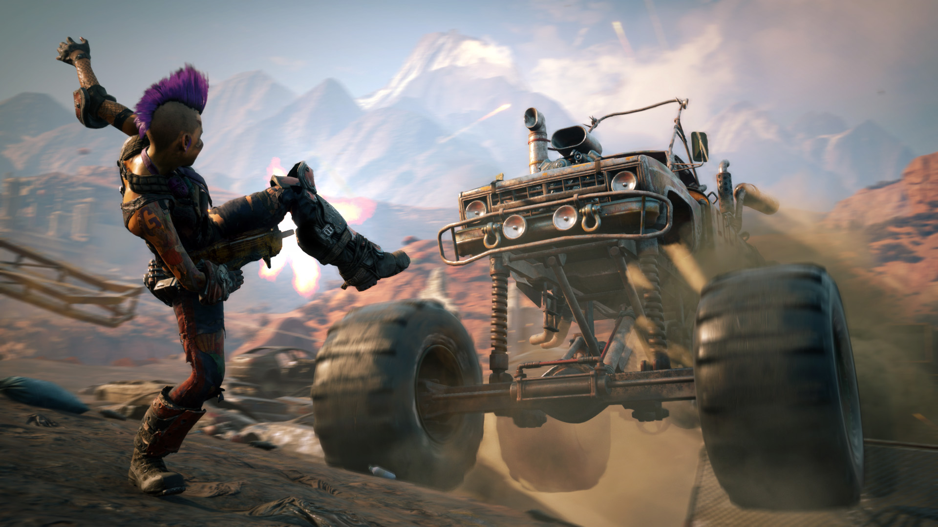 RAGE 2 Gameplay Screenshot 3. Bild: Bethesda