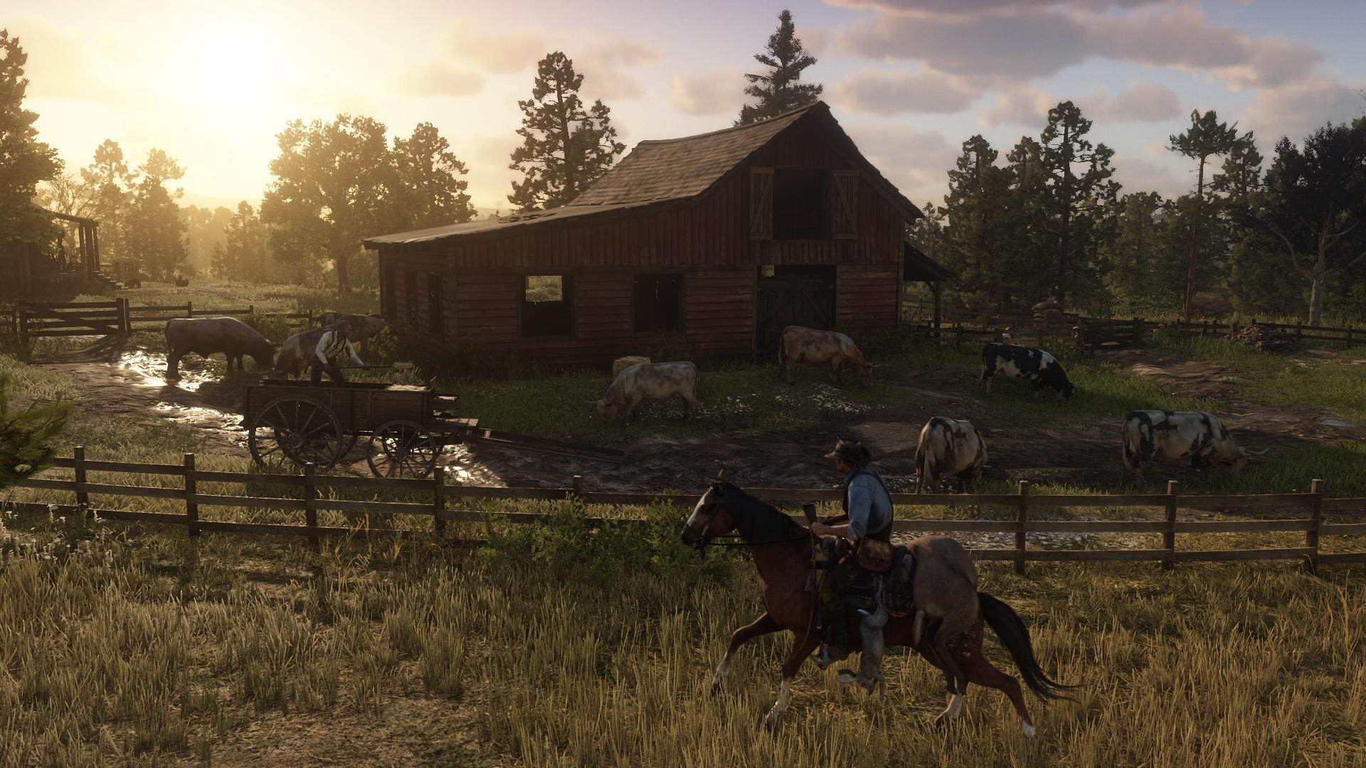 Neue Screenshots zu Red Dead Redemption 2 zeigen Tierwelt, Open World und Charaktere. Bild 22 - Quelle: Rockstar Games