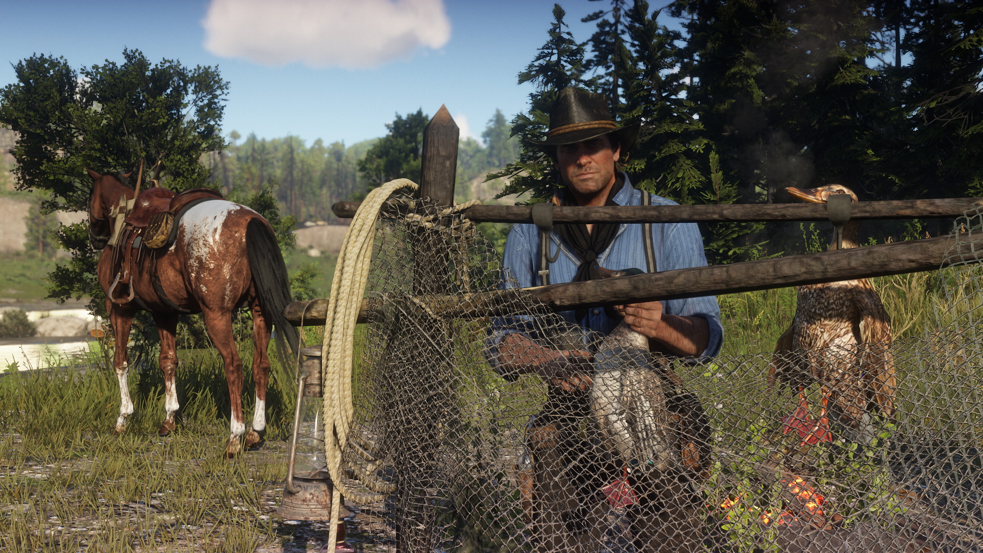 Das ruft sicherlich Tierorganisationen auf den Plan: Neue Screenshots zu Red Dead Redemption 2. Bilderquelle: Rockstar Games