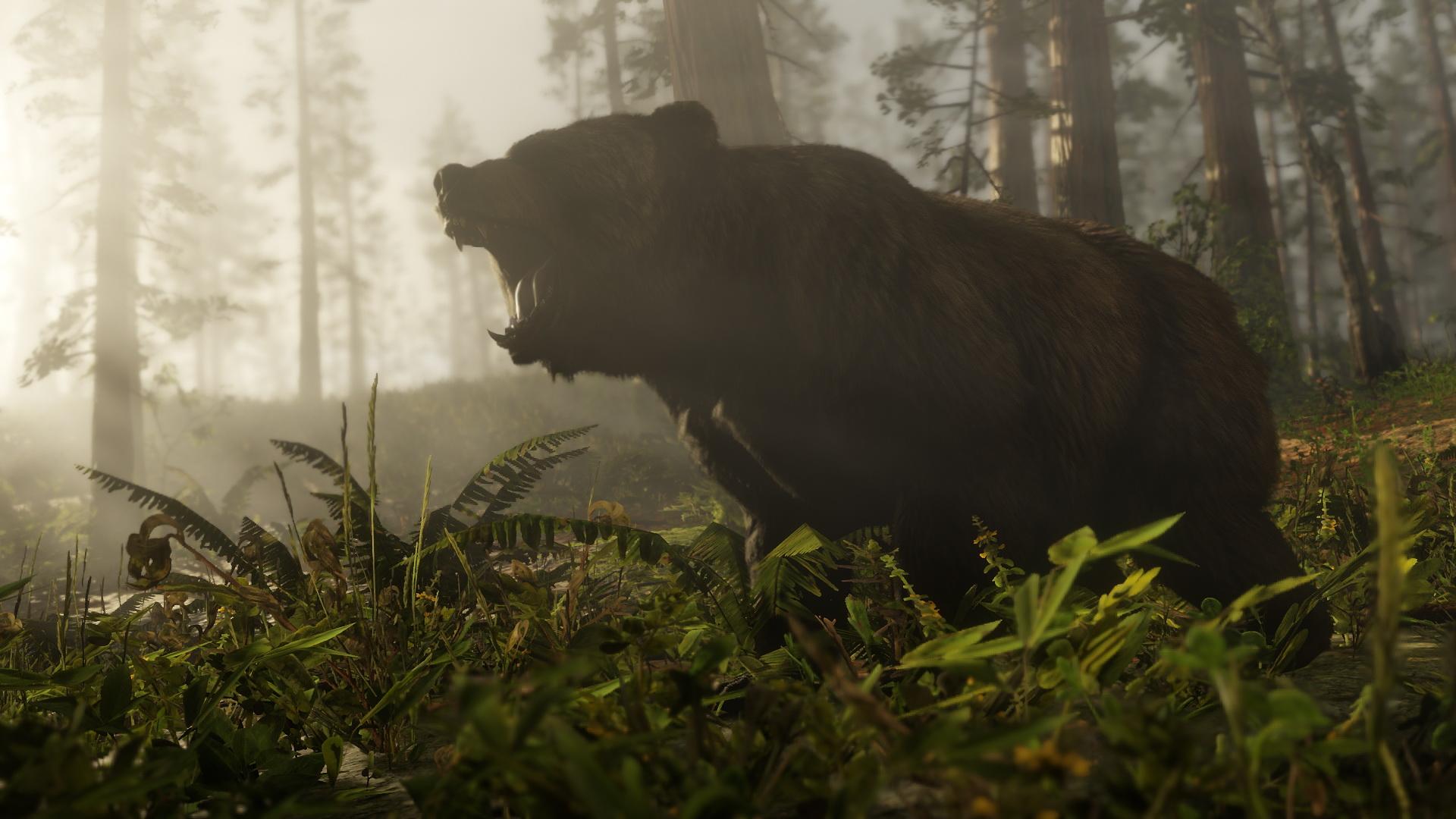 Bärenstark: Neue Screenshots zu Red Dead Redemption 2. Bilderquelle: Rockstar Games