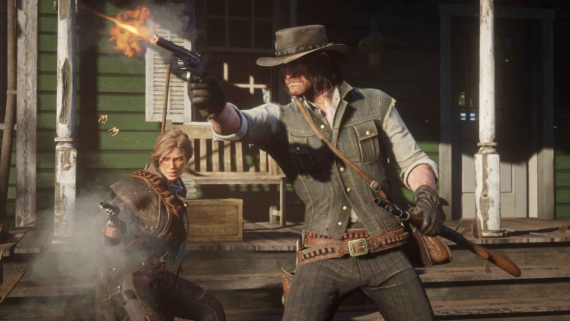 Neue Screenshots zu Red Dead Redemption 2 zeigen Tierwelt, Open World und Charaktere. Bild 2 - Quelle: Rockstar Games