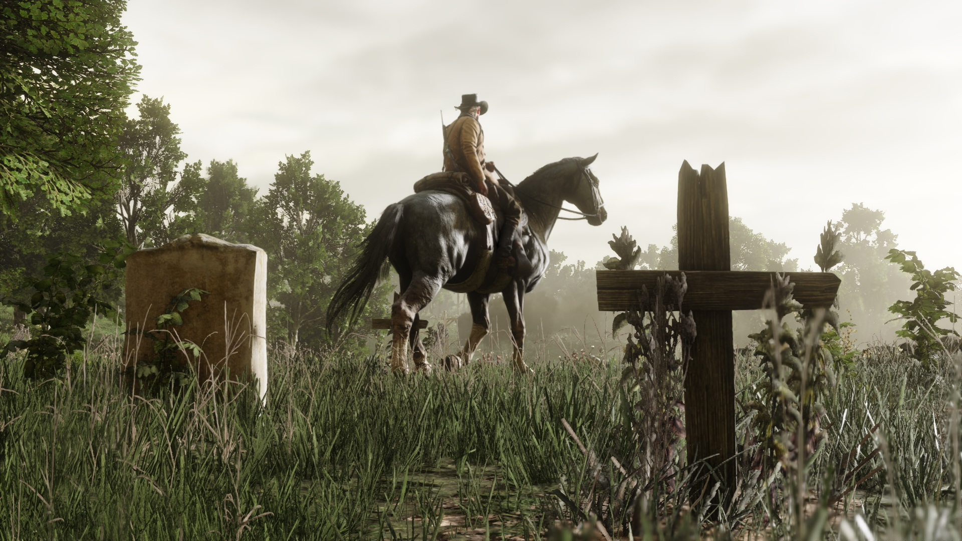 Hoch zu Ross: Neue Screenshots zu Red Dead Redemption 2. Bilderquelle: Rockstar Games