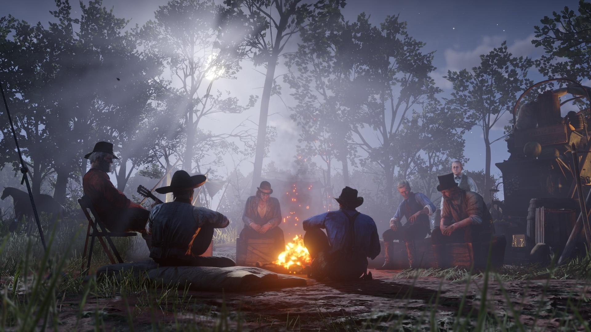 Neue Screenshots zu Red Dead Redemption 2 zeigen Tierwelt, Open World und Charaktere. Bild 19 - Quelle: Rockstar Games