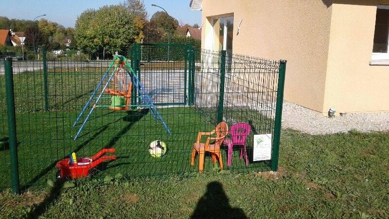 Réalisation d'un parc pour enfants