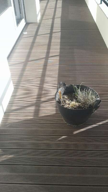 Terasse sur balcon