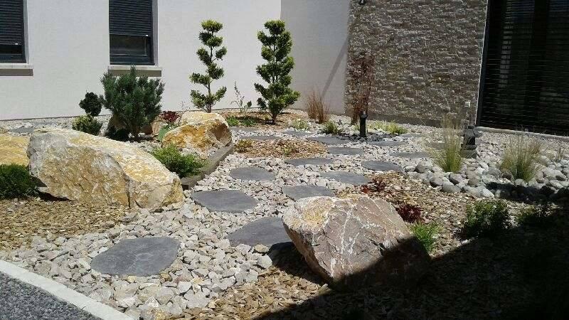Création d'un jardin ''zen''