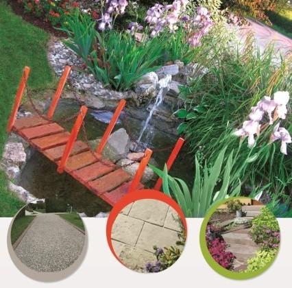 Création d'un bassin / plantations