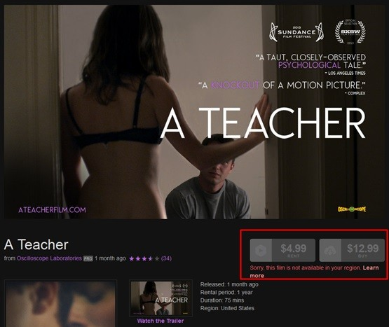 """The teacher"" on Vimeo on Demand."