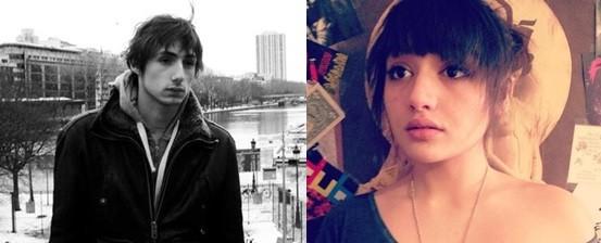 Nicolas Dalin et Lola Andreoni-Pham, les deux acteurs principaux du court-métrage.