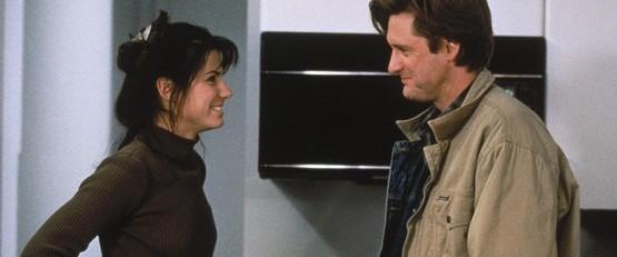 """Sandra Bullock et Bill Pullmann dans """"L'amour à tout prix"""" (1995)"""