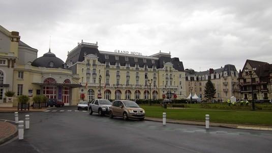 Le Grand Hotel de Cabourg.