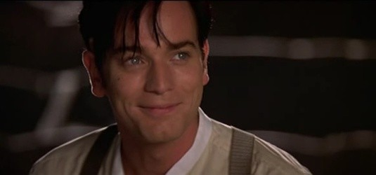 "Christian (Ewan McGregor) dans ""Moulin Rouge""."