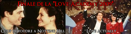 coup de foudre a notting hill love actually finale love academy 2009