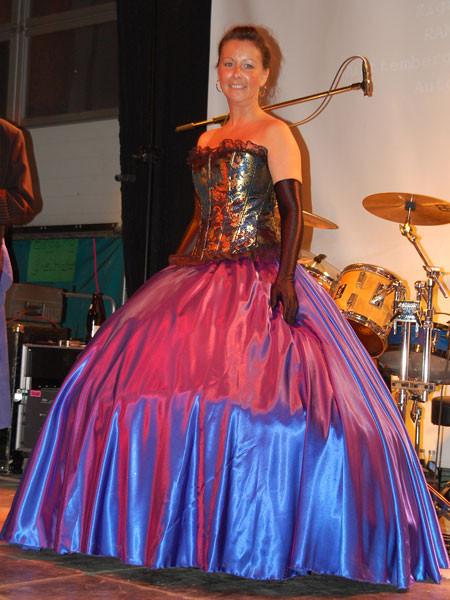 Dieses Kleid gab es zu gewinnen