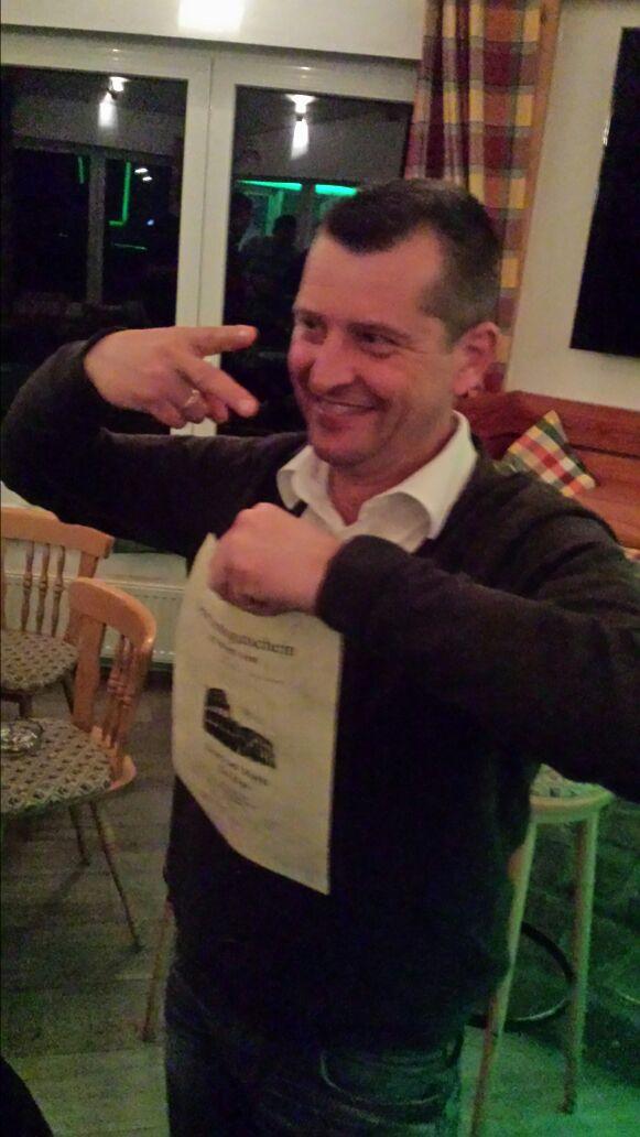 Turniersieger Karsten Schulte