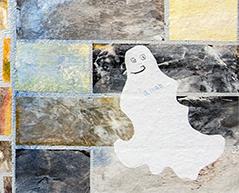 Auch lachende Gespenster müssen an die Wand.