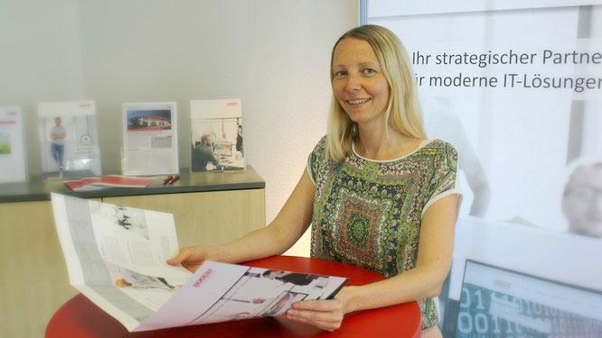 Überzeugte Optimistin: Marketing-Referentin Sandy Heydecker