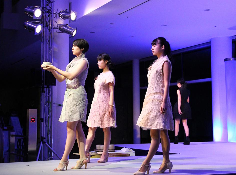 Ceramic Collection ファッションショー開催!