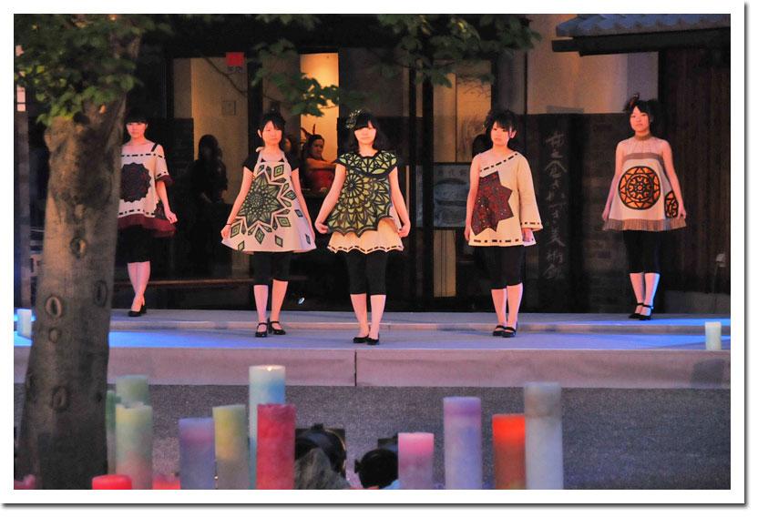 イチノクラコレクション ファッションショー