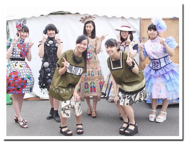 産業まつり 知多織りファッションショー