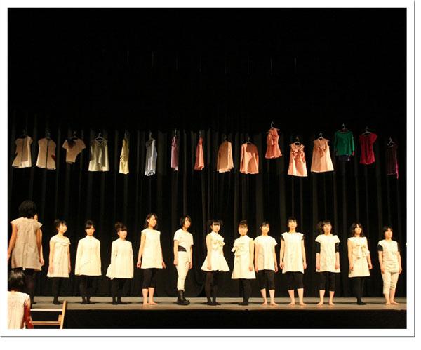 ダンスとファッションショーのコラボレーション「ReBORN」