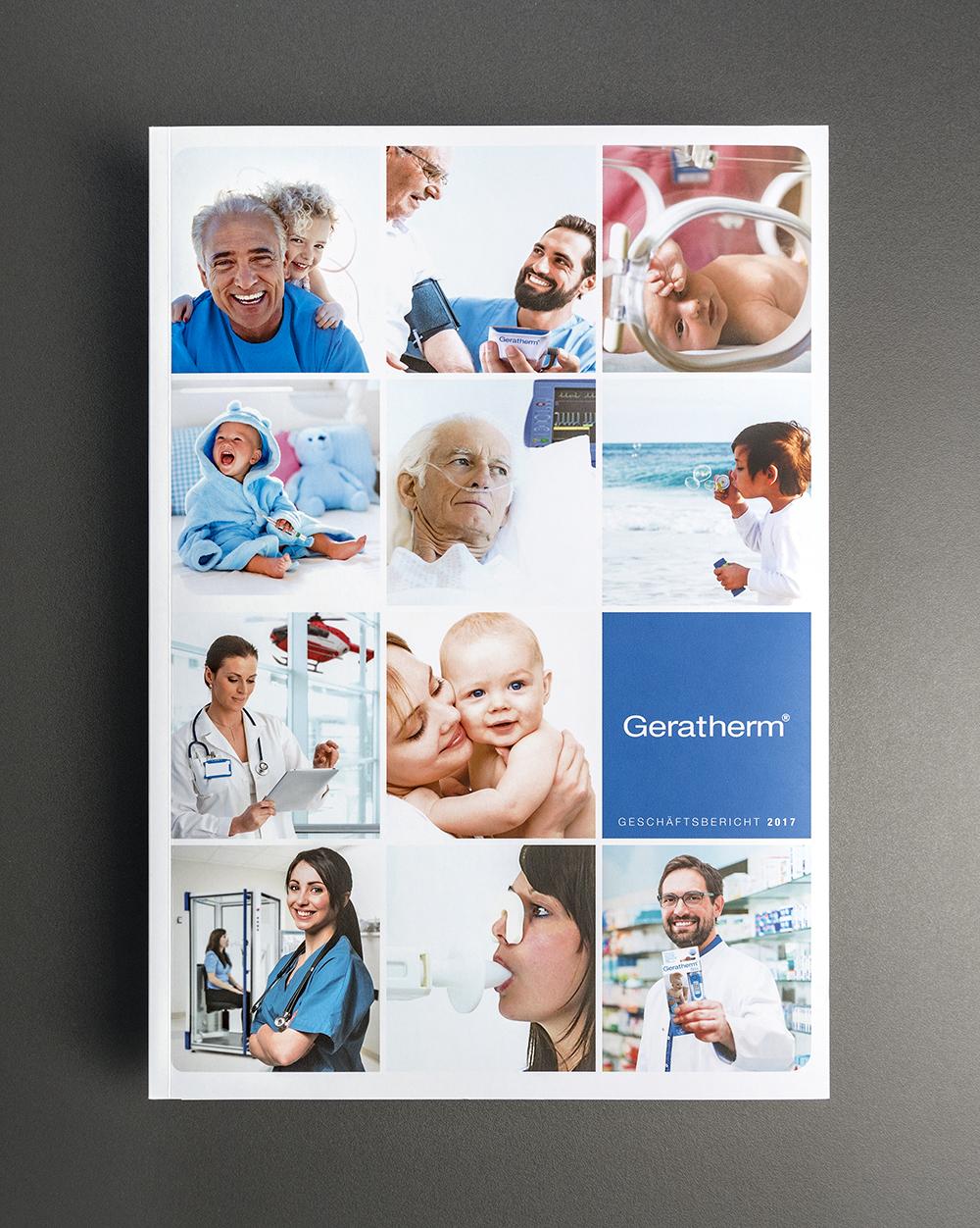 Geratherm Medical AG, Geschäftsbericht: Kreation, Layout, Satz- und Korrektur