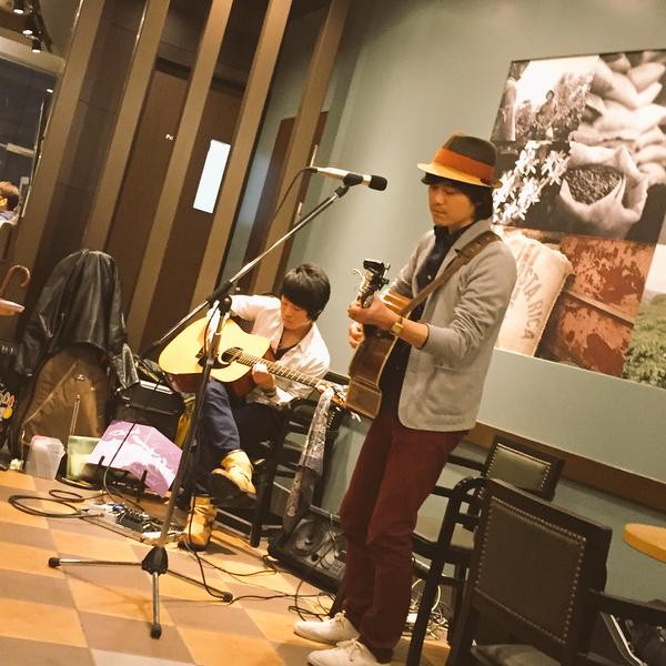 2015.4.5.sun. STARBUCKS 栄チェリープラザ店 『STARBUCKS MUSIC LIVE』