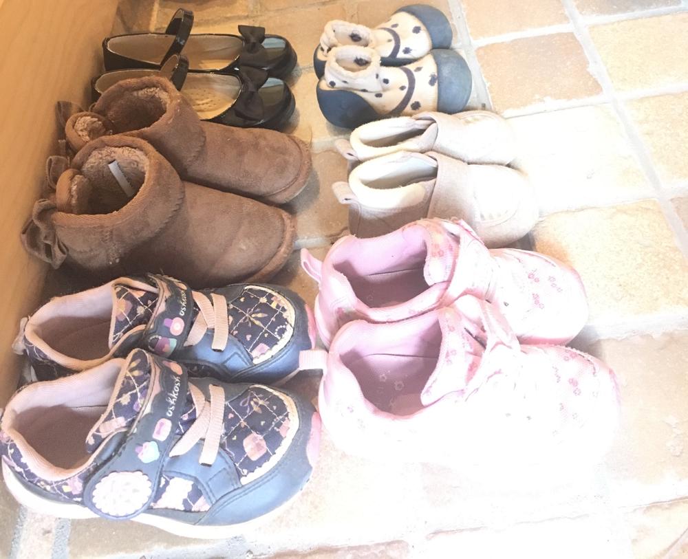 □やっタネ!⑫ セリアのカッティングシートで簡単!子どもが靴