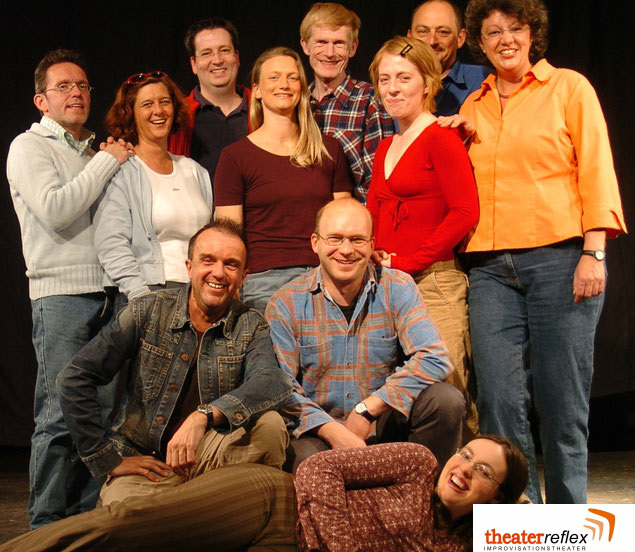 Improvisationstheater Reflex Team in 2005