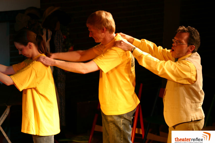 Improworkshop beim Improvisationstheater Reflex