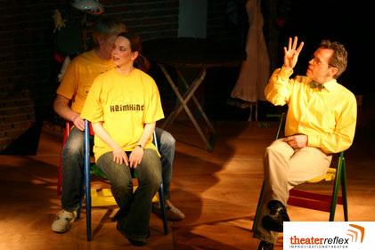 Improvisationstheater Reflex beim Einzählen 5-4-3-2-1-los