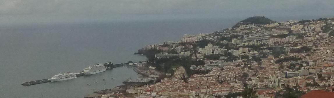 Abschied von der MS Europa (Funchal)