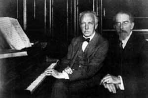 Richard Strauss und Franz Schalk