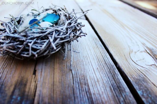 Handmade bird's nest