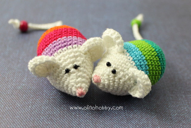 Crochet Little Mouses