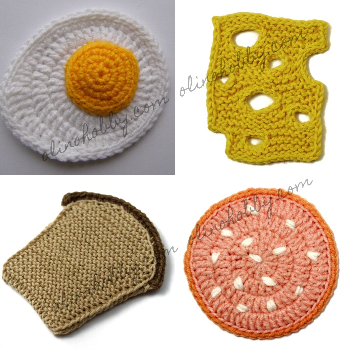 Set of Patterns 'Breakfast' $5.99