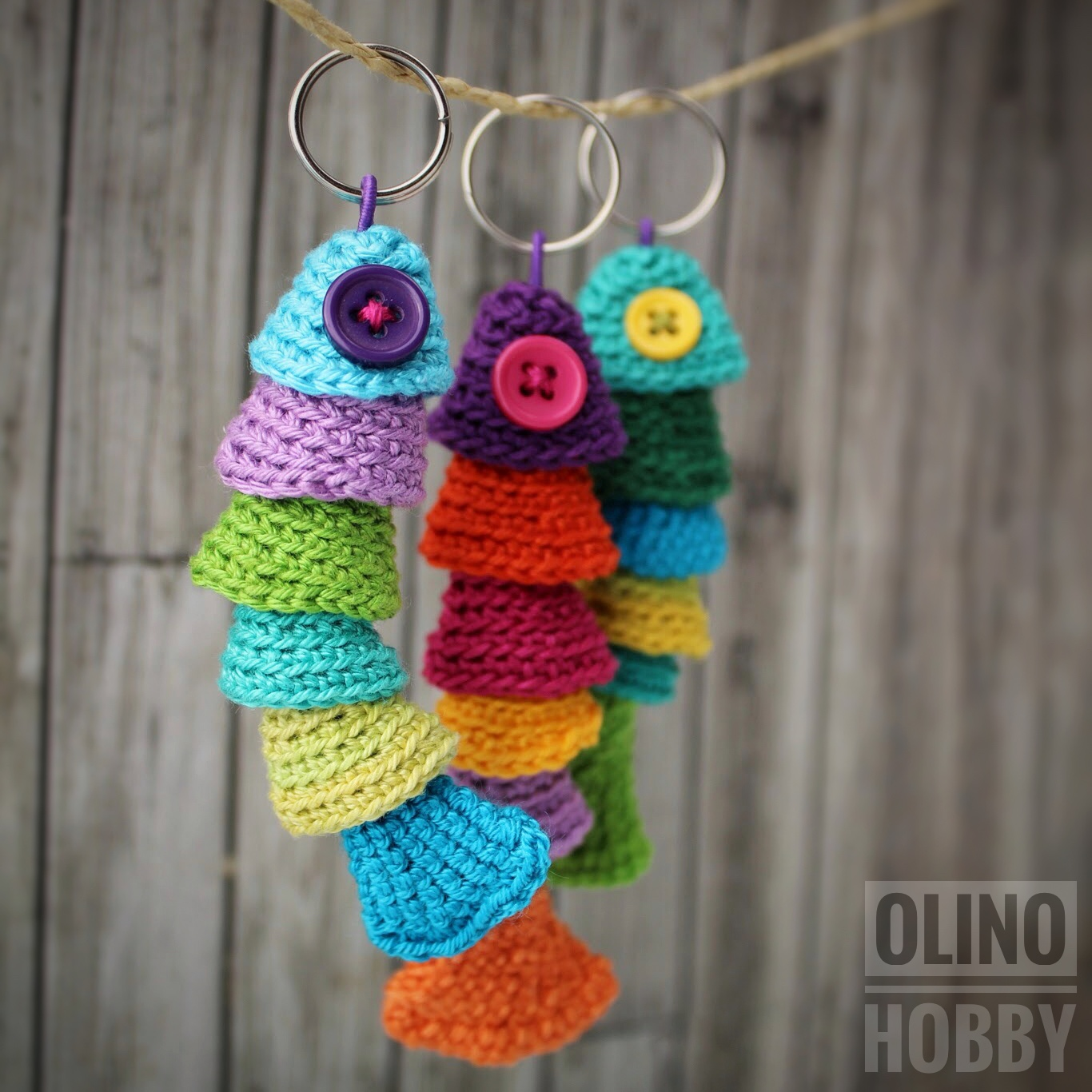 Fish Keychain Crochet Pattern $2.50