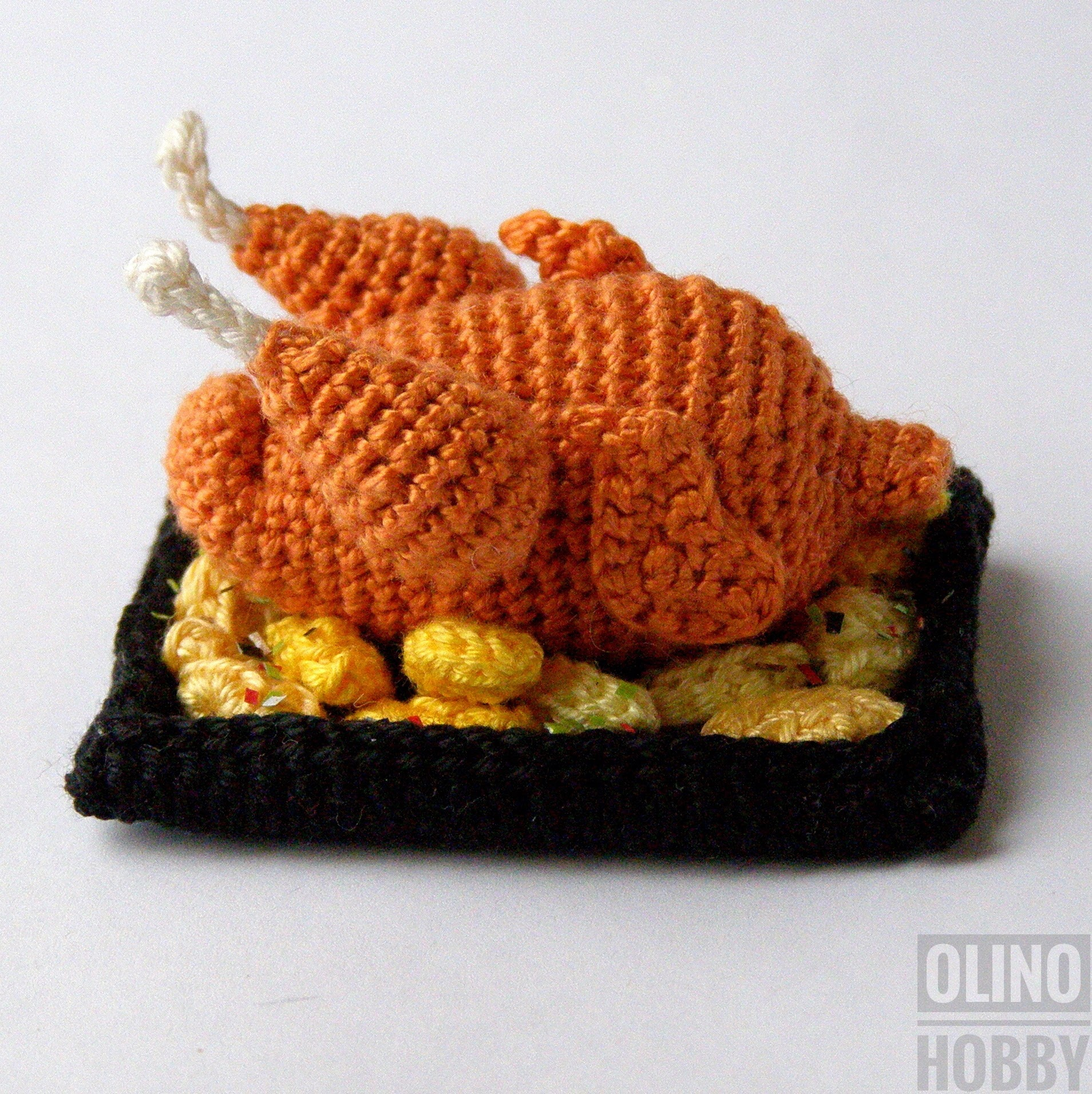 Roasted Turkey Crochet Pattern $4.99