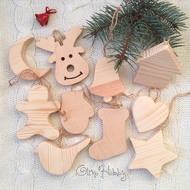 Wooden Christmas Toys