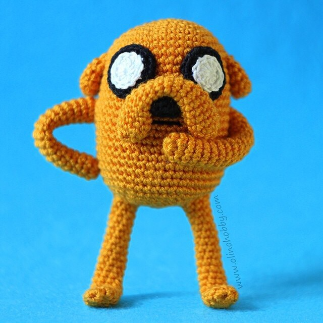 Crochet Jake The Dog Adveture Time