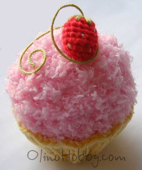 knitted cakes