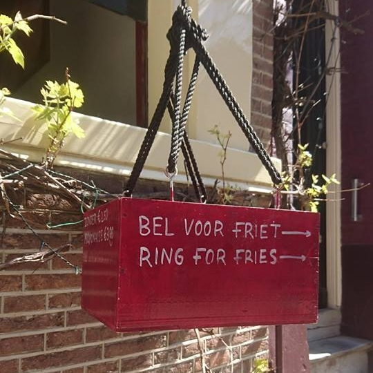 quirky hidden Amsterdam bell