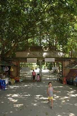 Suan Mokkh, Eingang