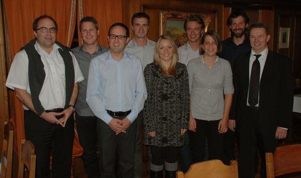 OVB-Vorstand und Neumitglieder anlässlich der 47. GV (2011)