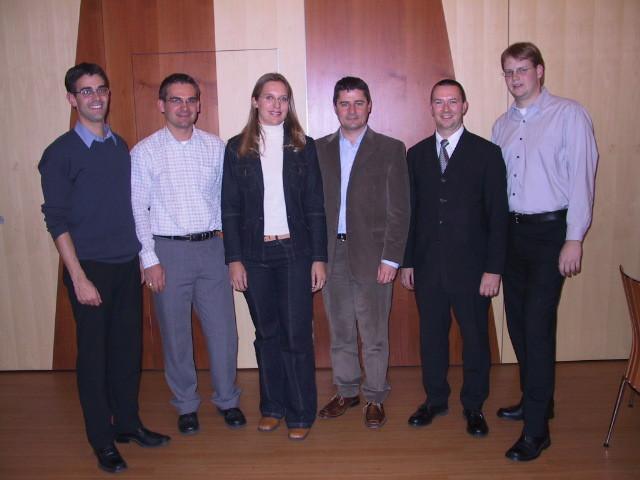 OVB-Vorstand und Neumitglieder anlässlich der 39. GV (2003)