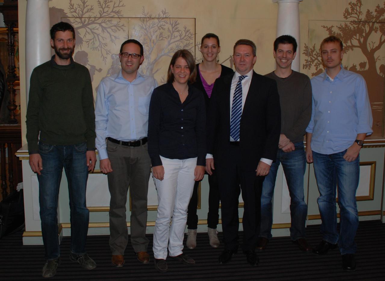 OVB-Vorstand und Neumitglieder anlässlich der 48. GV (2012)