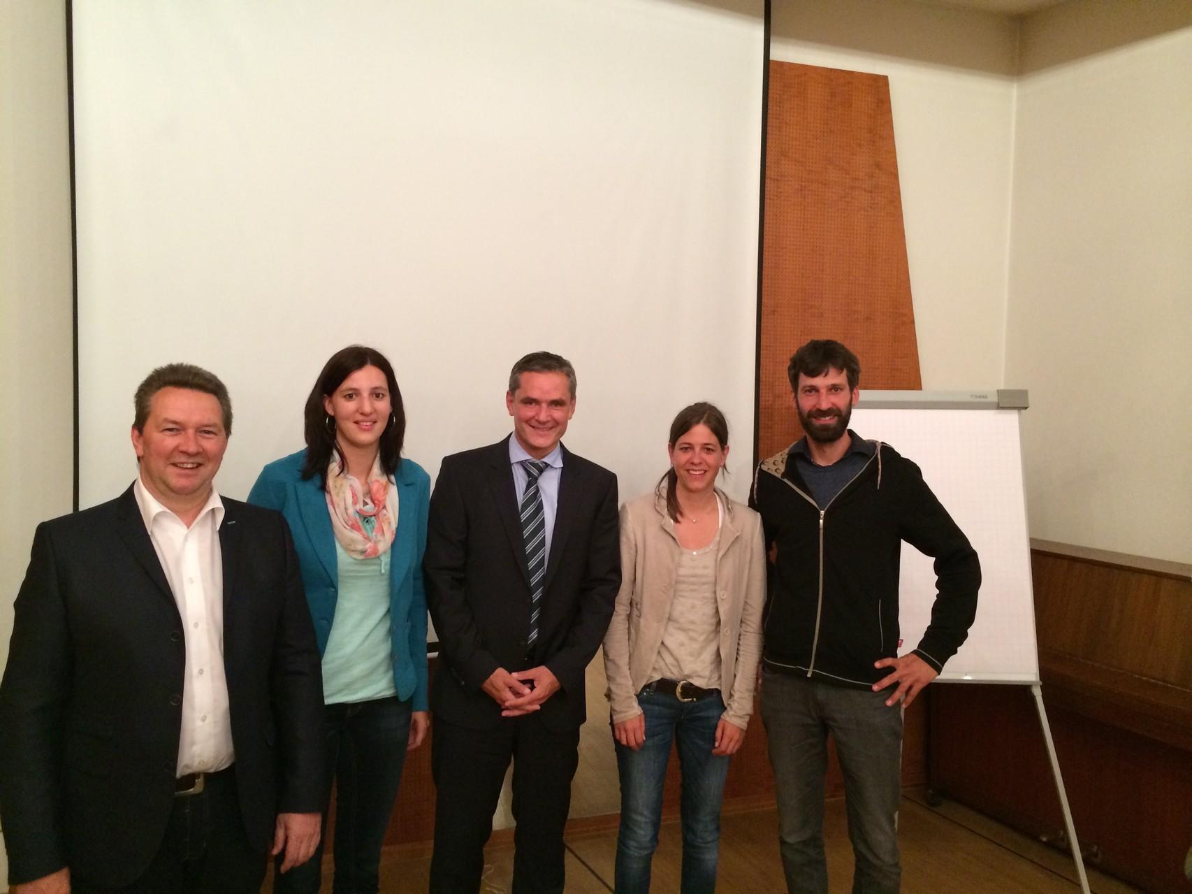 Vortrag WIR Bank von Raphael Stoffel in Naters, 22. Mai 2014