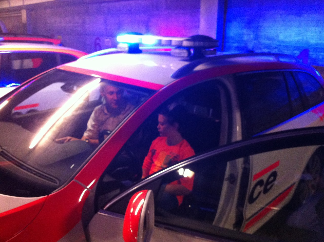 Besuch bei der Kantonspolizei Wallis, 11. Oktober 2012